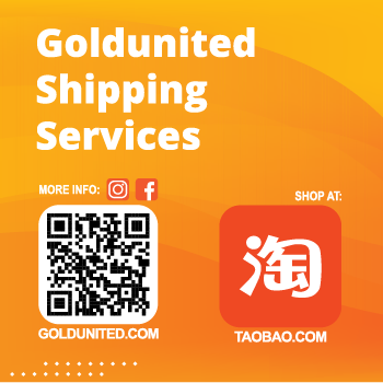 We ship from Taobao.com